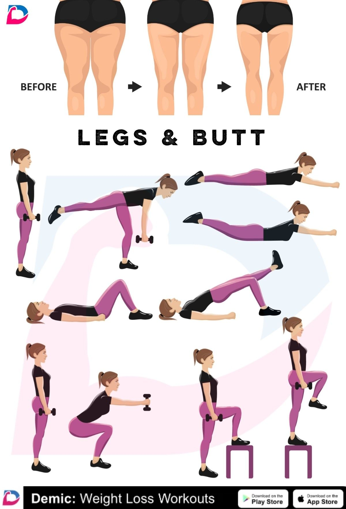 Pin on Booty Workouts