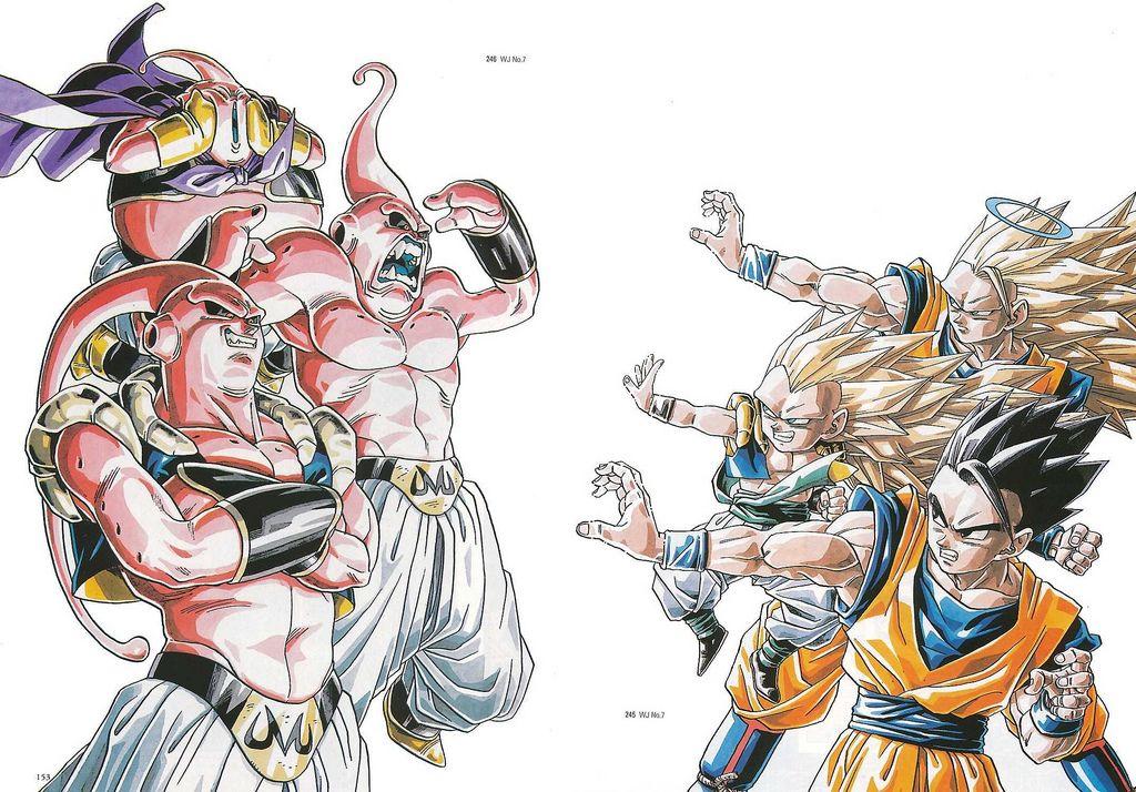 Daizenshuu 01 Page152 153 Dragon Ball Dragon Ball Art Dragon Ball Z