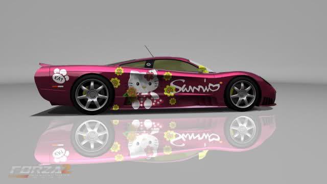 Hello Kitty Sports Car Sports Car Dream Cars Sports