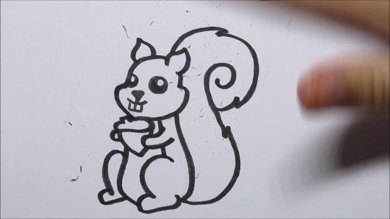 Hedendaags 🐿 Zo teken je een cartoon eekhoorn! (In stappen) - YouTube (met HT-39