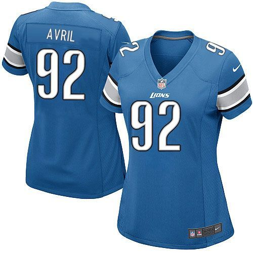 women nike detroit lions 92 cliff avril limited light blue team color nfl jersey sale youth nike dal