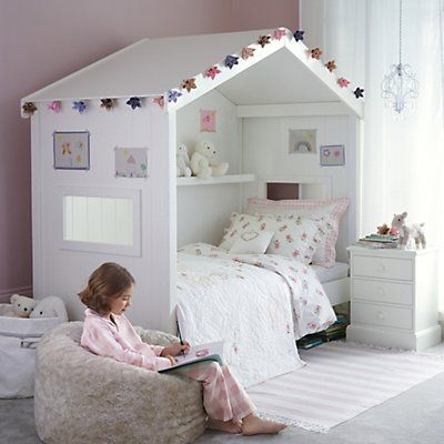 Classic House Day Bed Beds The White Company In 2020 Small Girls Bedrooms Girl Bedroom Designs Childrens Bedroom Furniture