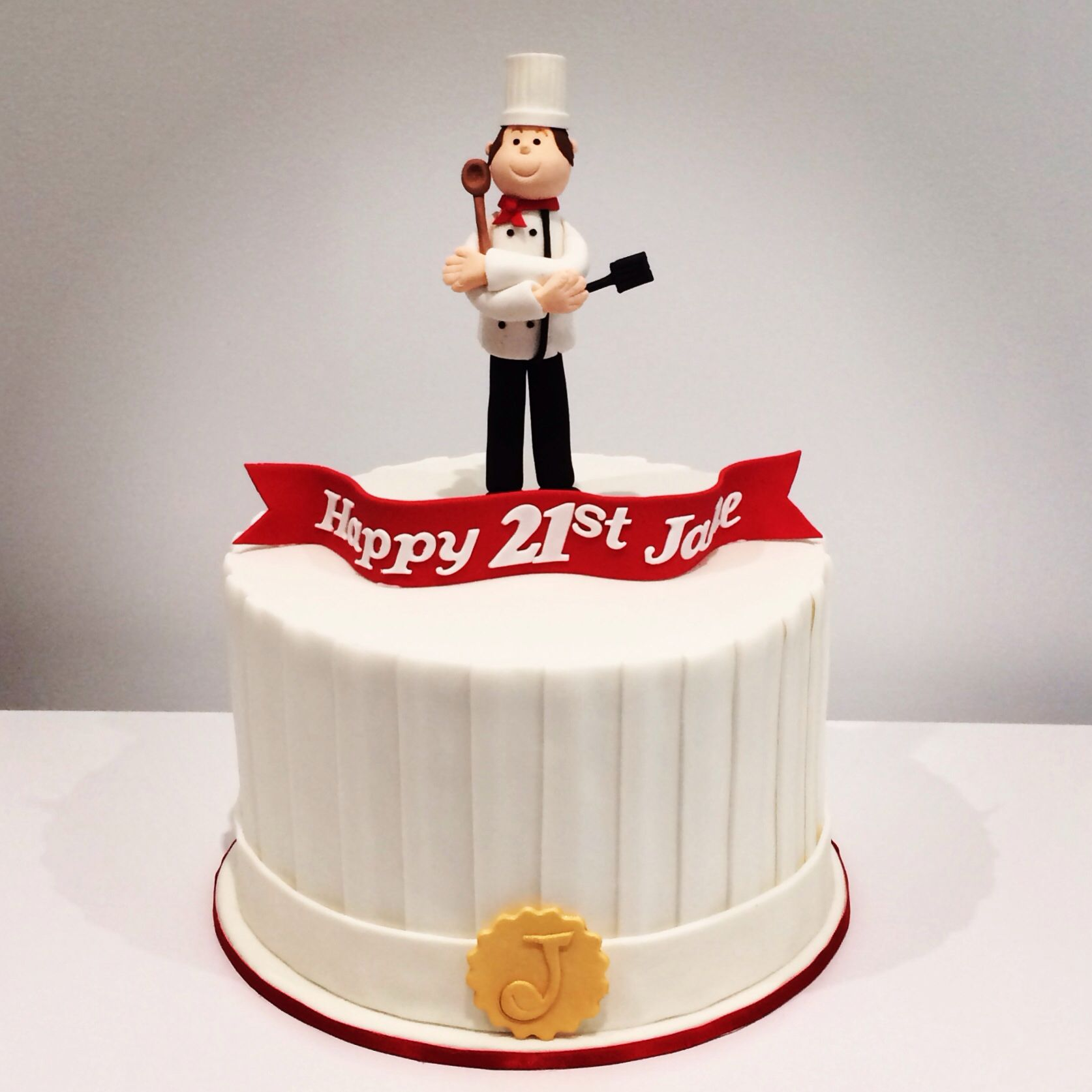 Chef Hat Cake By Sweet Palate