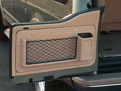 Custom Barn Door Storage From Fordparts Com Part 2c7z 7820130 Aa 123 87 425 821 6611 Ford Excursion Diesel Ford Excursion Cargo Storage