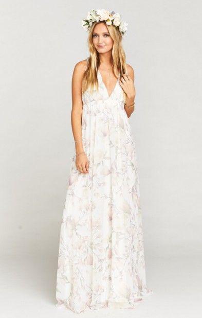 Show Me Your MuMu AVA MAXI BRIDESMAID DRESS ~ FOREVER VINE