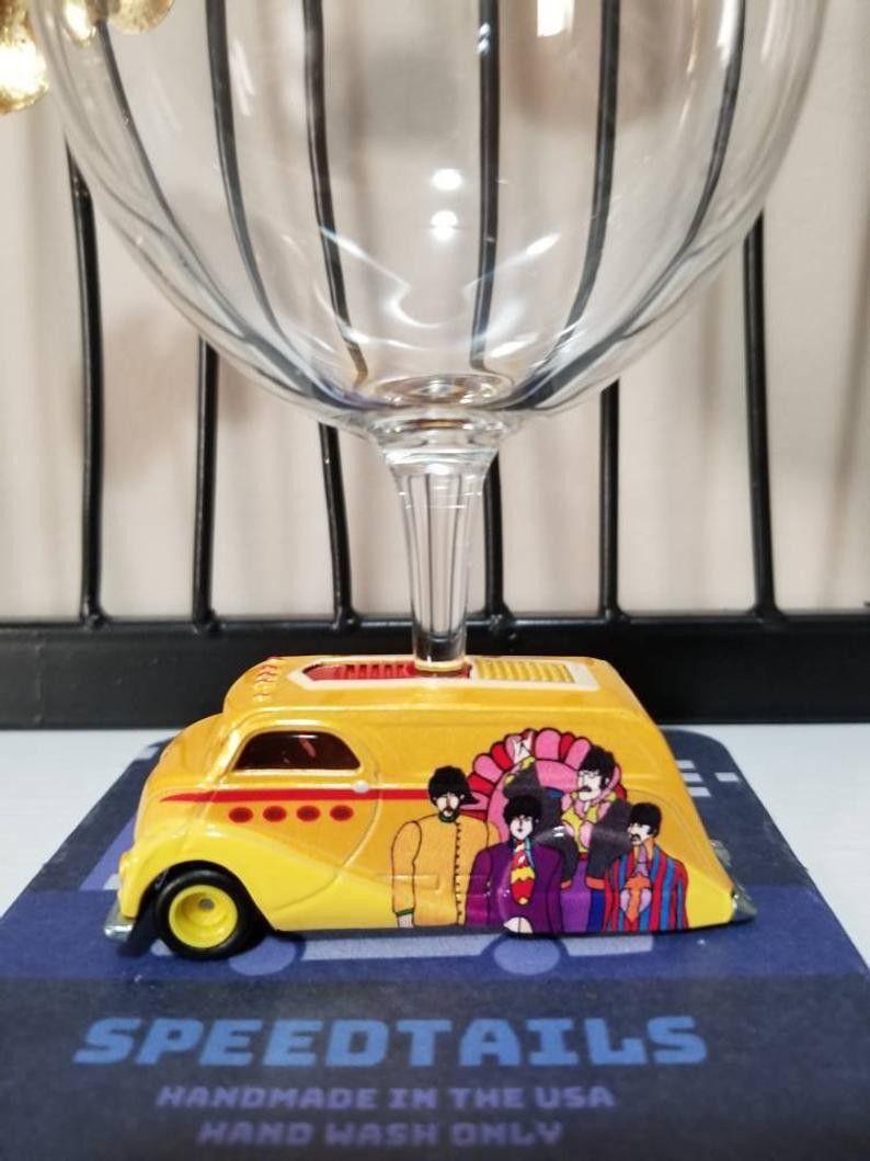 Submarine Christmas 2020 The Beatles Yellow Submarine Wine Glass in 2020   Wine gifts
