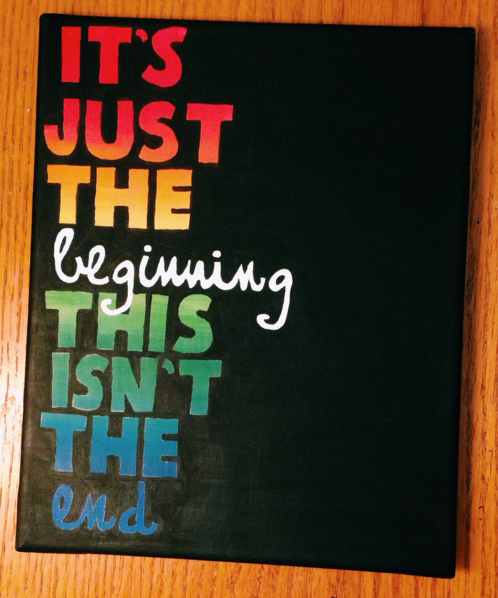 It S Just The Beginning This Isn T The End Quote From This Isn