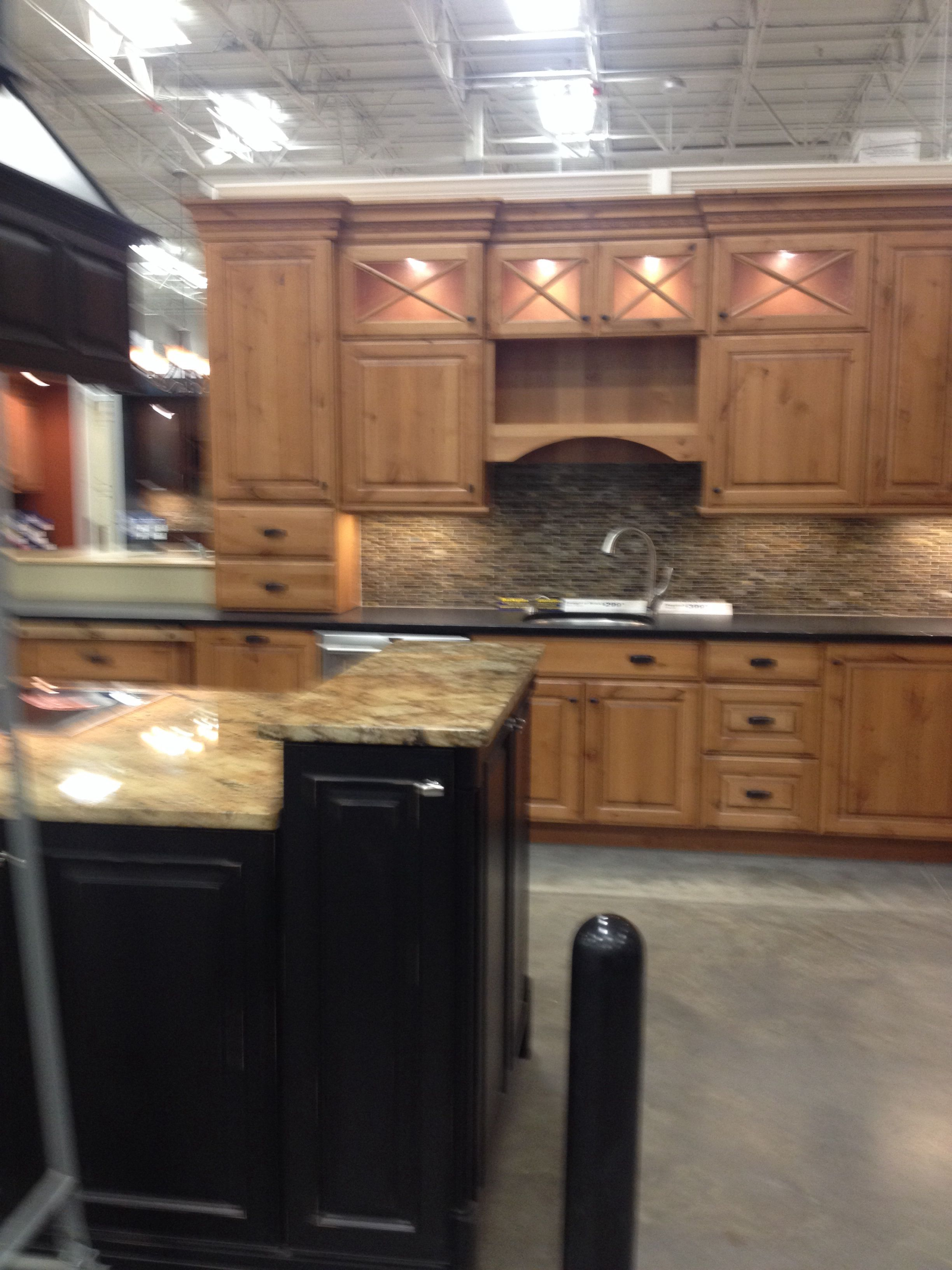 Schuler Cabinets On Display At Local Lowes Store Schuler