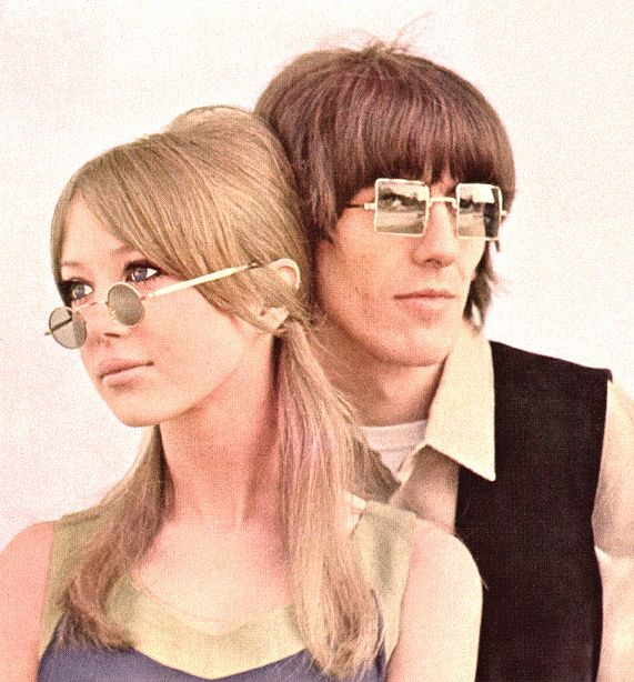 """Love this picture of George Harrison and his wife Patti.  They were one of rock's original """"it"""" couples. My Sweet Lord was the first single I ever bought.  I think I was 7! RW"""