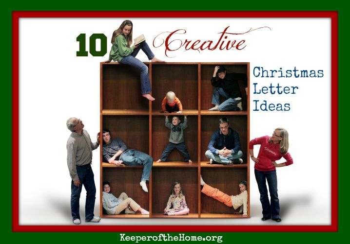 Ten Creative Christmas Letter Ideas  Christmas Letters Creative