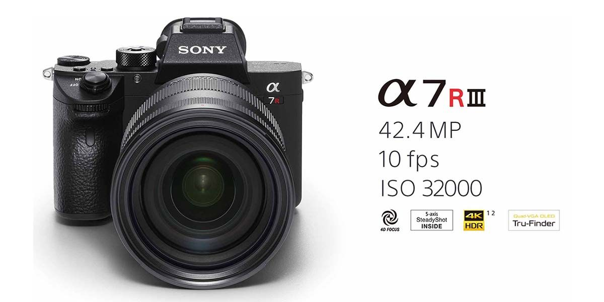 Sony A7R III Full Frame Mirrorless Camera Launched in India | Camera ...