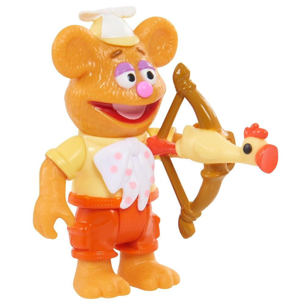 Disney Junior Muppet Babies Poseable Fozzie  5e9422912063