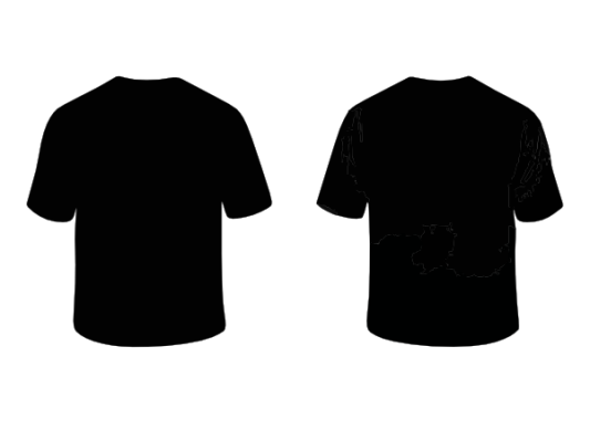 Kaos Polos Depan Belakang Untuk Di 2020 Baju Kaos Gaya Kasual Hitam