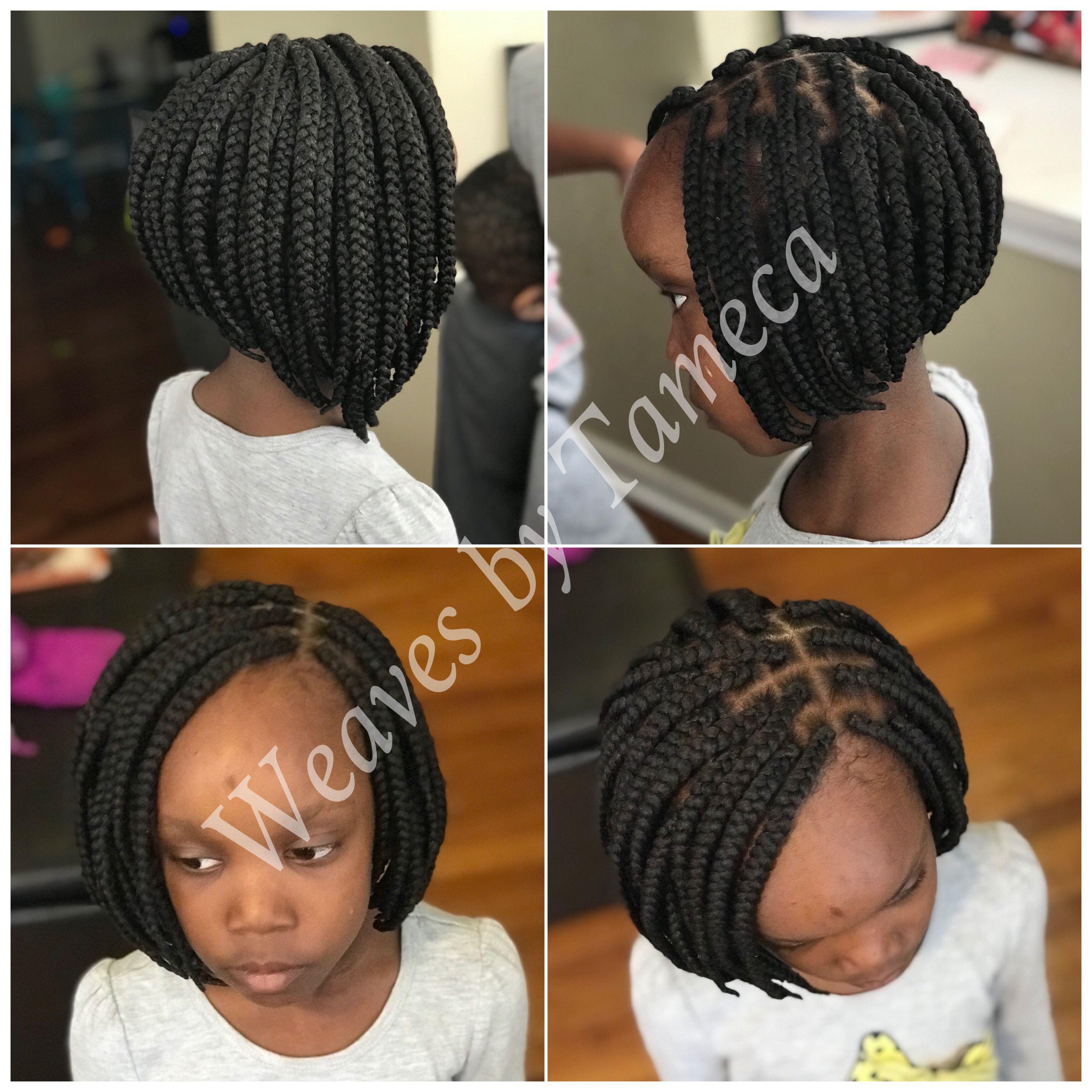 Kids Bob Braids Braids For Kids Natural Hair Styles For Black Women Kids Hairstyles