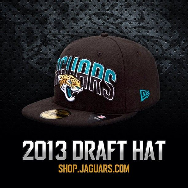 Here is the official 2013 Jaguars Draft Hat! Add this to your collection  today! 246e1d786f3