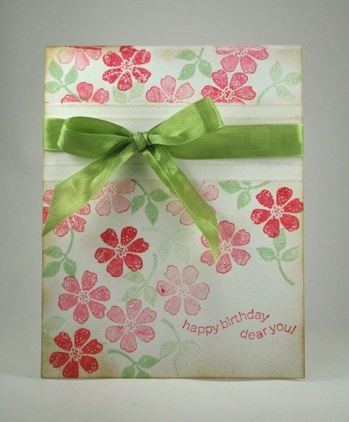 Bloomin' Marvelous Birthday by mamaxsix - Cards and Paper Crafts at Splitcoaststampers