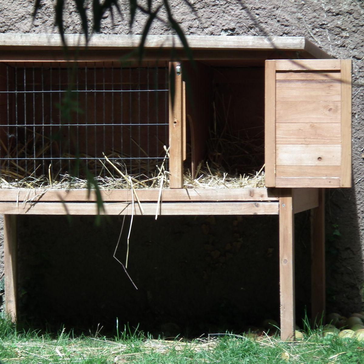 kanichenstall selber bauen oder hasenstall selber bauen, hier gibt
