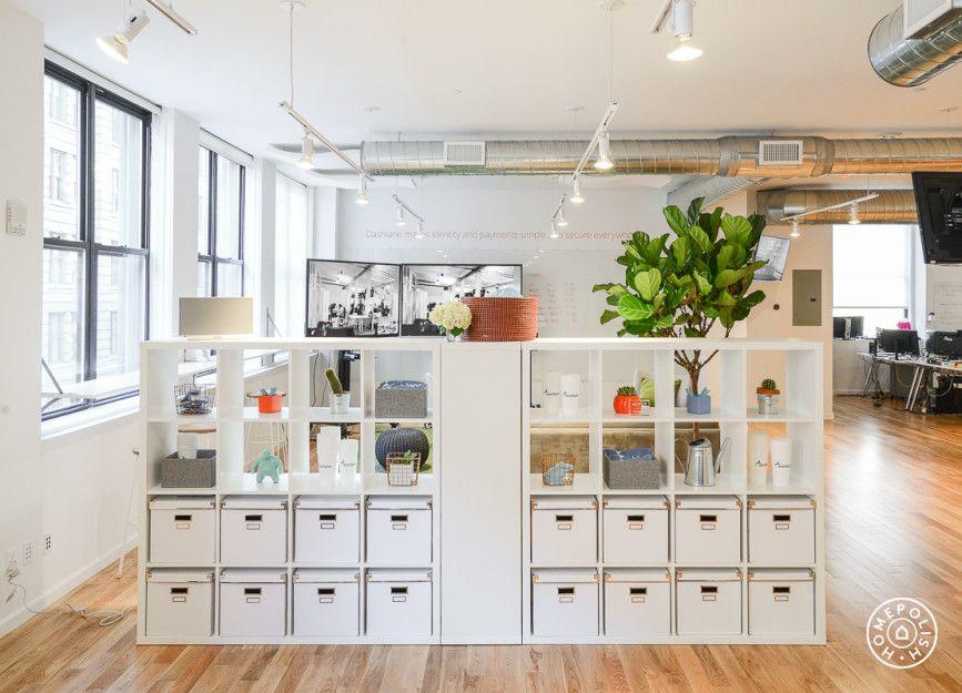 dazzling office redesign at dashlane ikea inspiration raumteiler raum und kallax. Black Bedroom Furniture Sets. Home Design Ideas