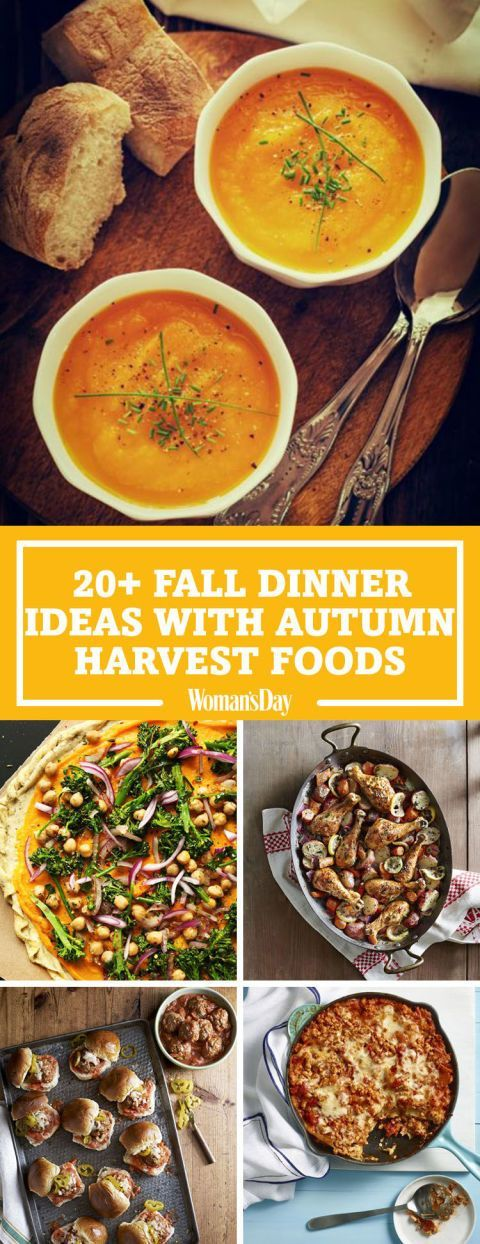 30 Fall Dinner Ideas for When You're Craving Something Comforting