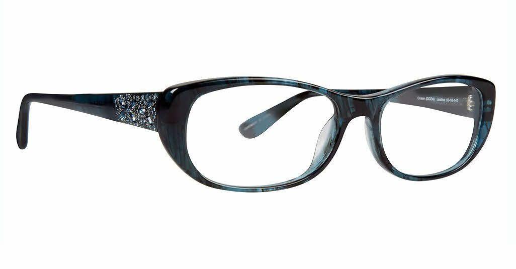 9bcd479c0a9 Badgley Mischka Justine Eyeglasses