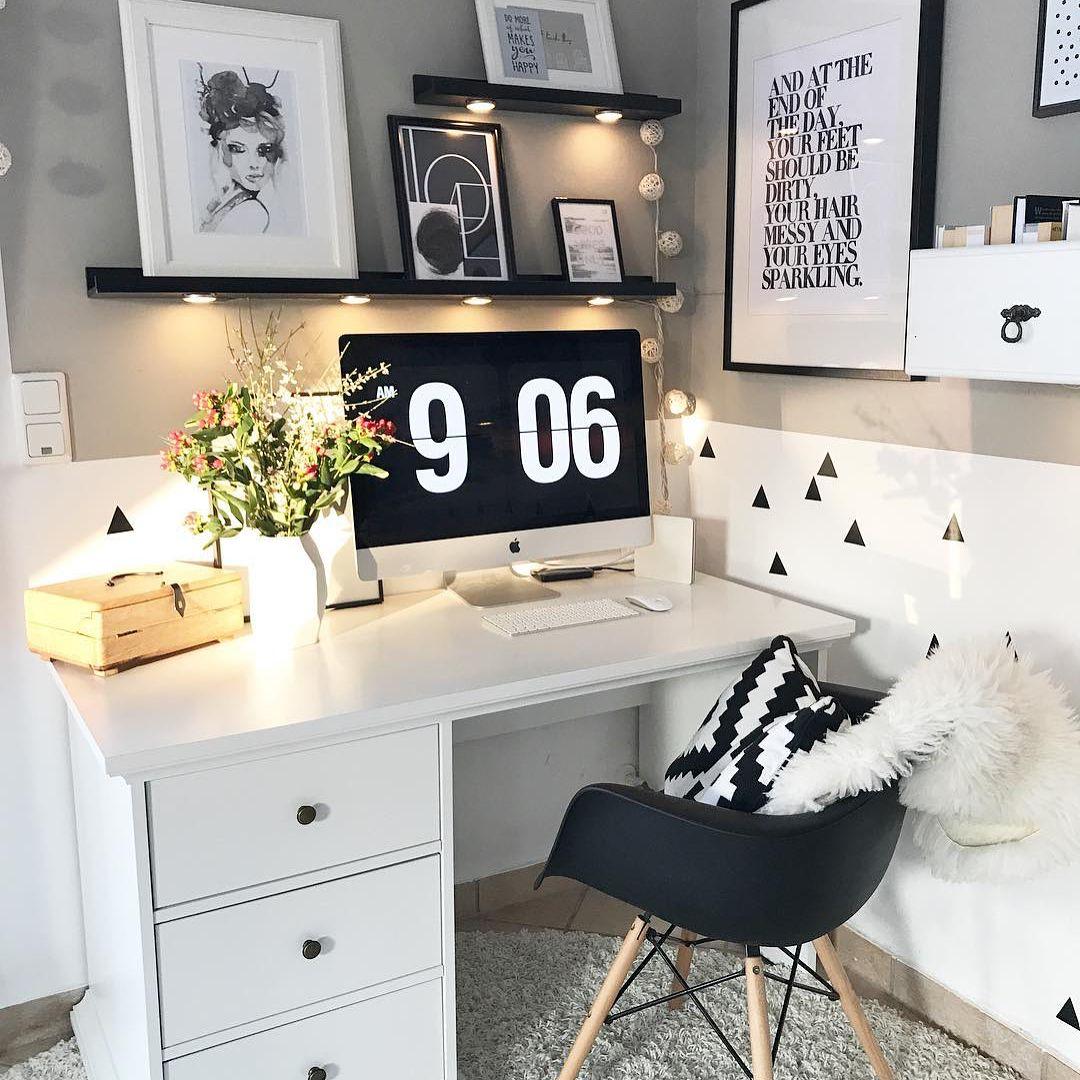 Zimmer Einrichten, Wohnung Einrichten Dekoration, Schlafzimmer Ideen,  Wohnzimmer, Arbeitsplatz, Arbeitszimmer,
