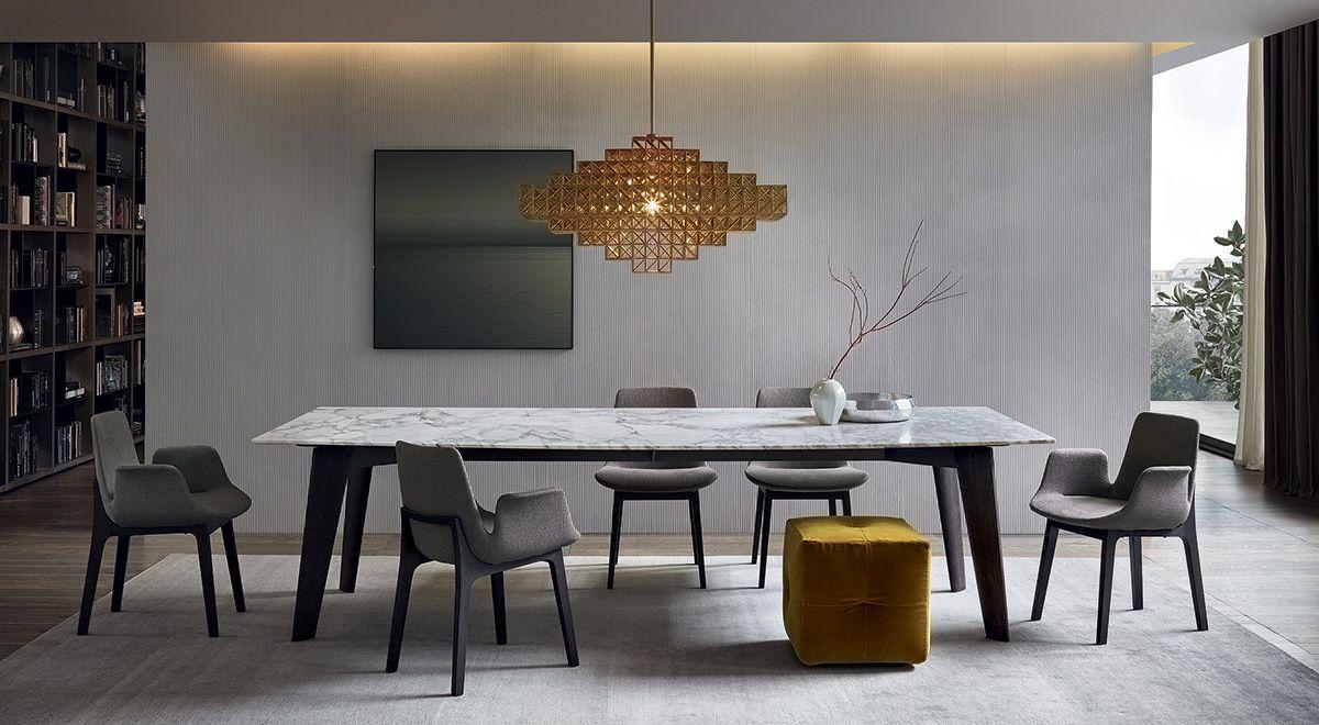 Mesas de comedor de diseño italiano en GUNNI&TRENTINO | Comedores ...