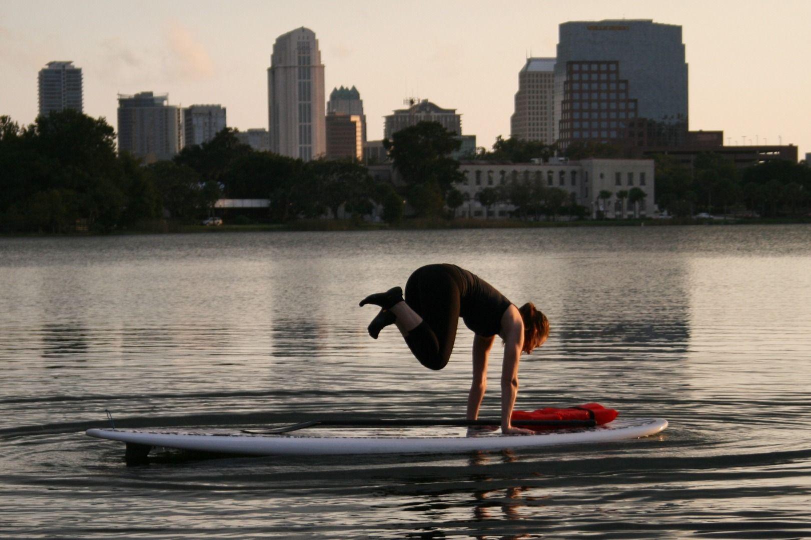 Paddleboard orlando fitness class