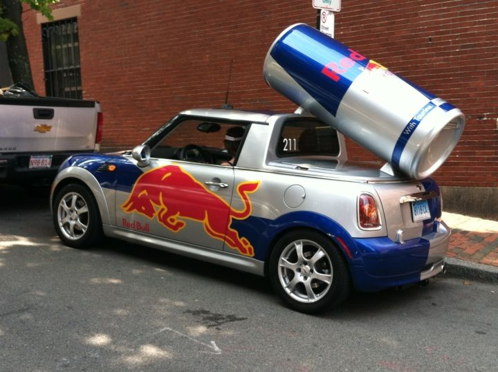 Red Bull Mini Cooper And Other Promotional Vehicles Hooniverse