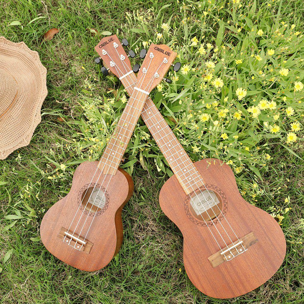 Ukulele De Caoba Para Principiantes Con Un Paguete De Correa Templador Cuerdas Estuche 26 Pulgadas De Tenor Amazon Es Ukulele Instrumentos Musicales Ukelele