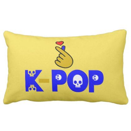 I love kpop fabulous soft and wrinkle free lumbar pillow i love kpop fabulous soft and wrinkle free lumbar pillow birthday gifts party celebration negle Image collections