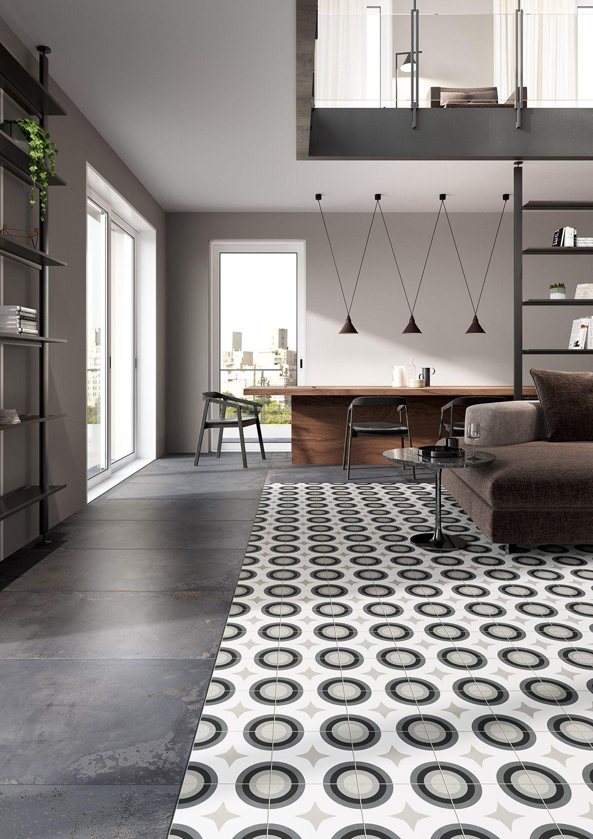 Swing Concrete tile floor, Concrete floors, Flooring