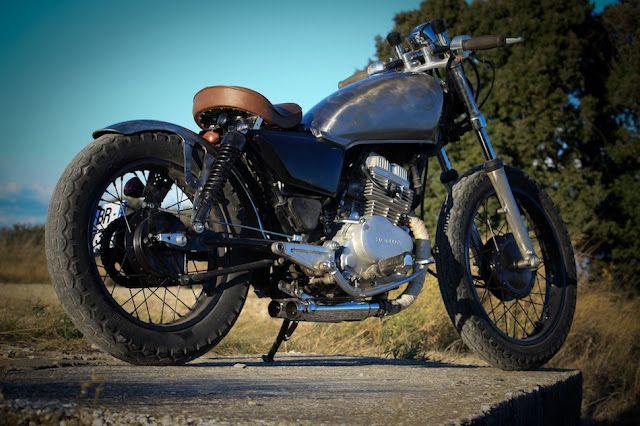 honda cm 125cc custom kool finds pinterest honda brat bike and honda 125. Black Bedroom Furniture Sets. Home Design Ideas
