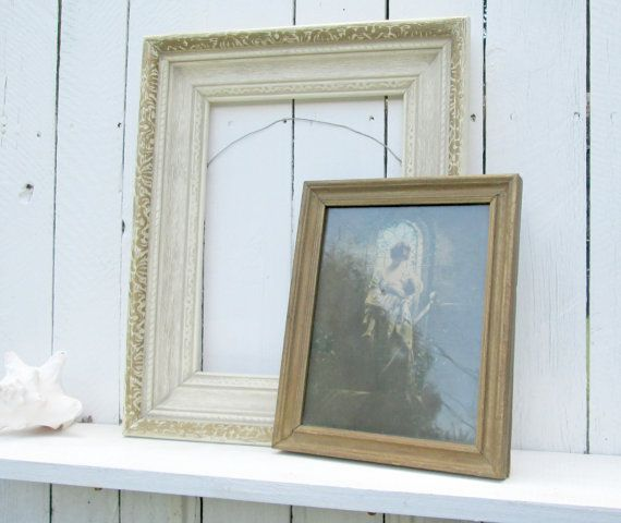 Vintage Cottage Frame Collection Carved Wood by WeeLambieVintage ...