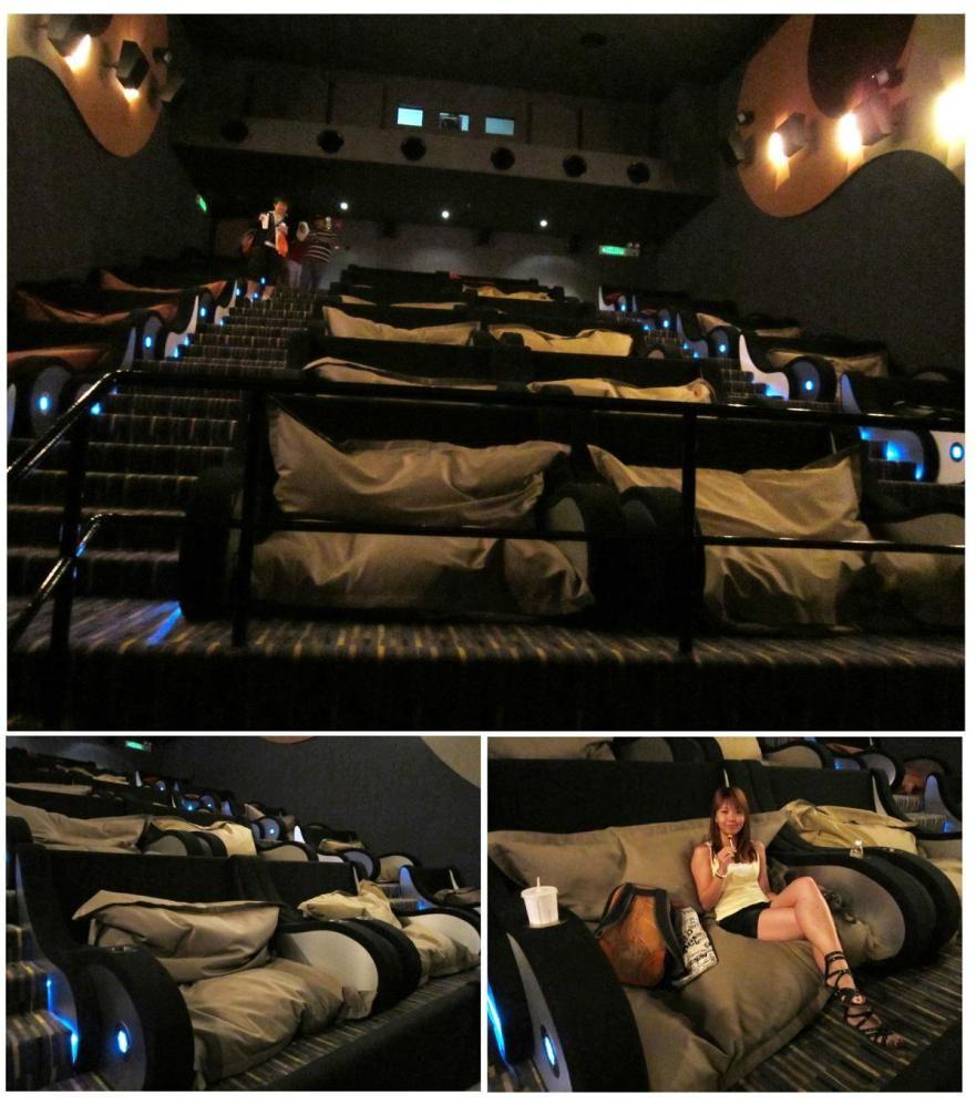 TGV Cinemasu0027 Beanieplex: The Worldu0027s Most Comfortable Movie Theater