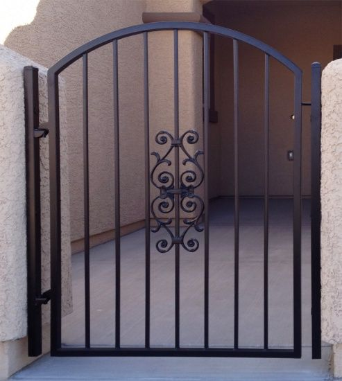 Econoline Gate Gallery All Artistic Iron Works Ornamental Wrought Specialists