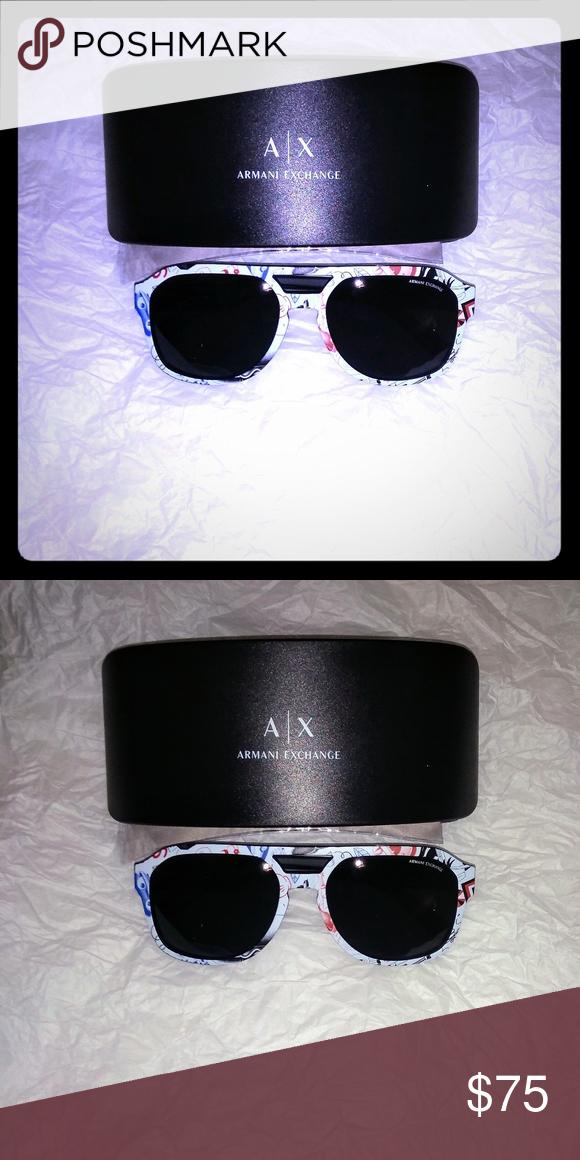 eec73cb0f606 Armani Exchange AX4074S 57 Sunglasses Authentic Armani Exchange Qty   1Color  MATTE BLACK LES JEAN CLODE   GREY Type  SUNGLASSES Armani Exchange  Accessories ...