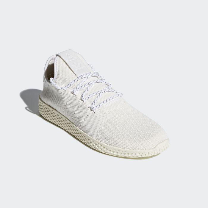Pharrell Williams Hu Holi Tennis Hu BC Shoes Cream White