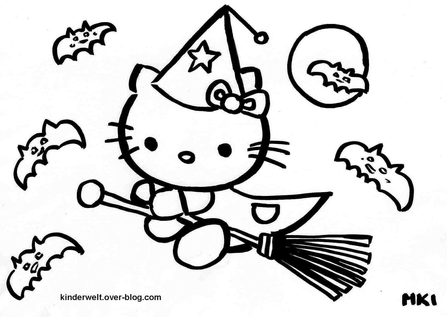 Malvorlagen Von Hello Kitty