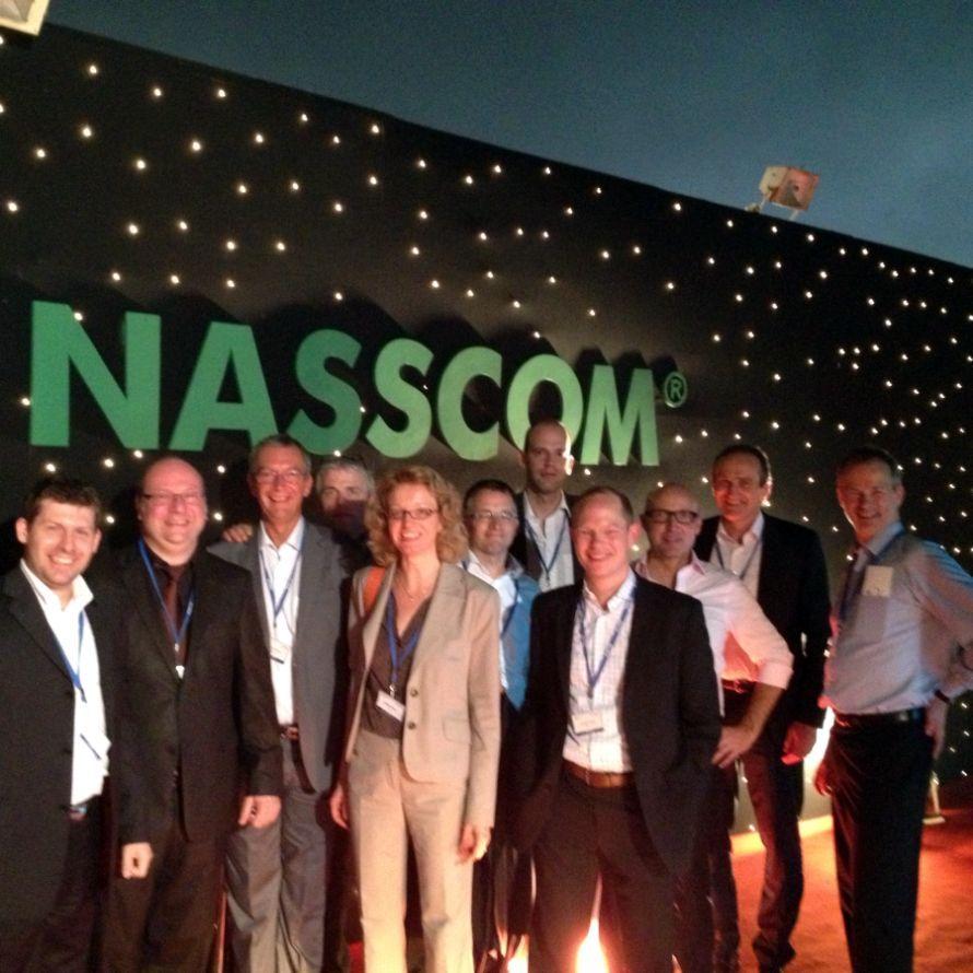 India Leadership Forum 2013  Nasscom: Größte Auslandsdelegation aus Deutschland
