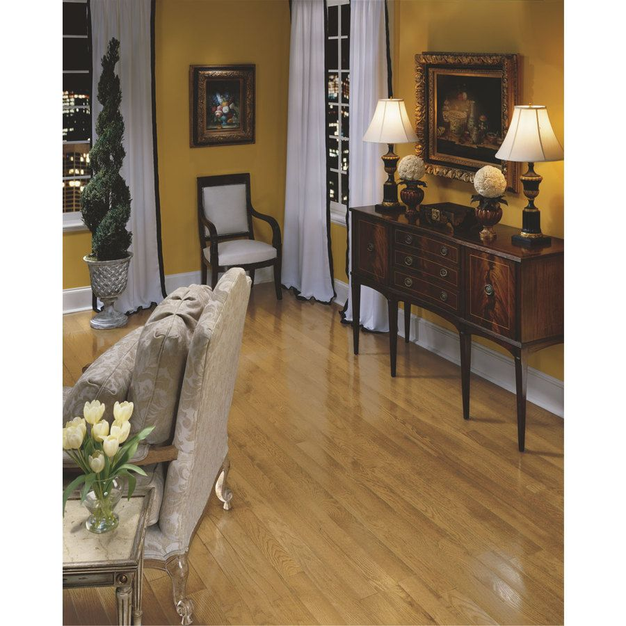 Shop Bruce Addison 2.25in W Prefinished Oak Hardwood