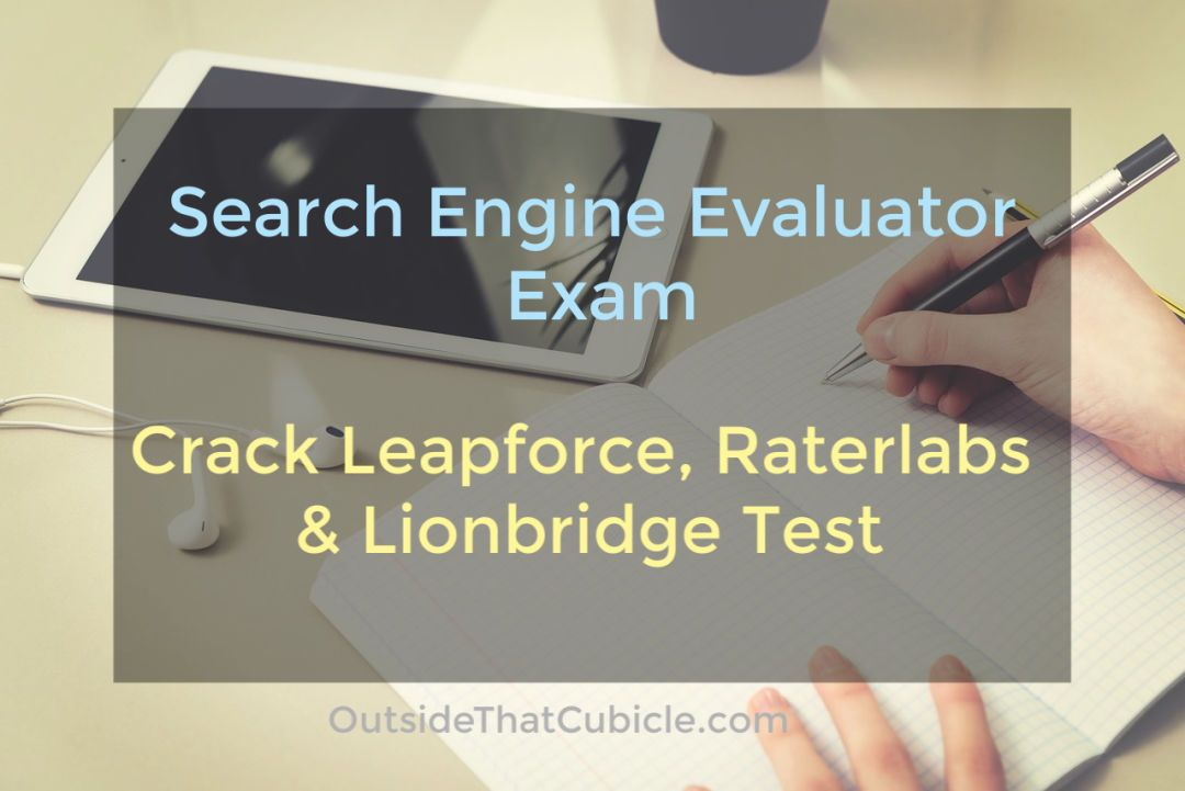 Pin on search engine evaluators exam