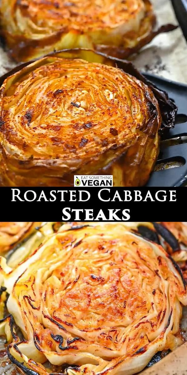Roasted Cabbage Steaks These Roasted Cabbage Steak