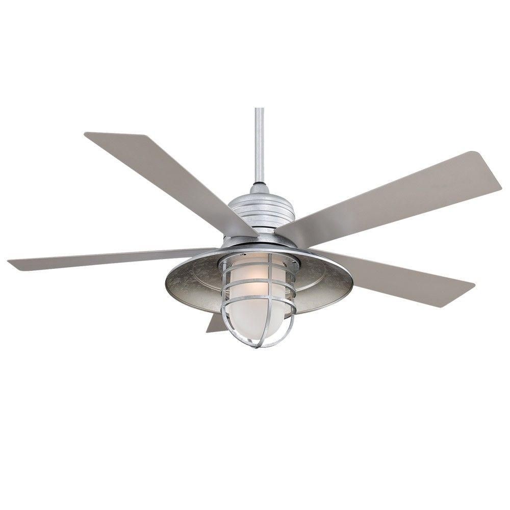 Galvanized Metal Outdoor Ceiling Fans