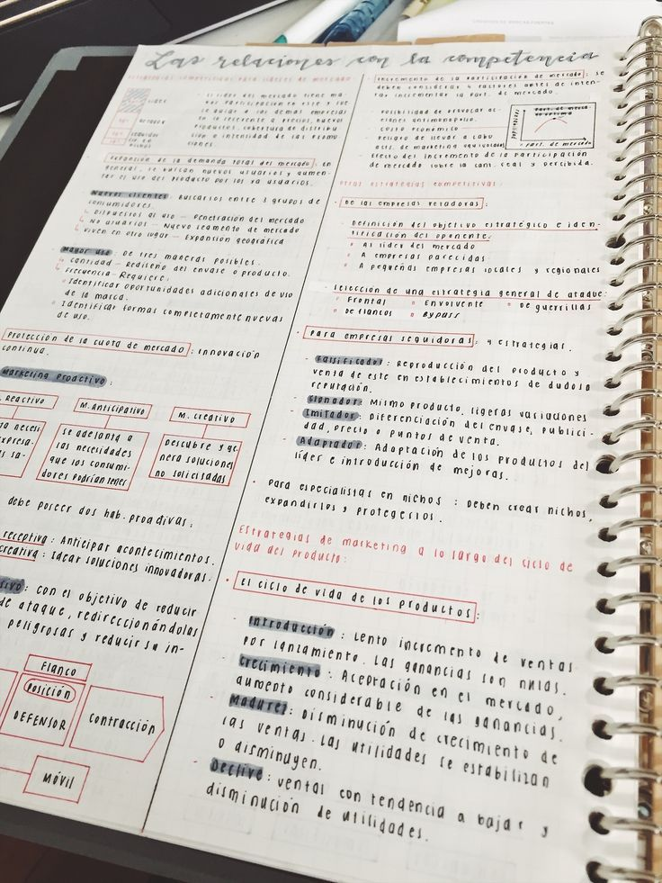 cecestudies: 60/100 days of productivity Notes for my strategic marketing class :) #aestheticnotes