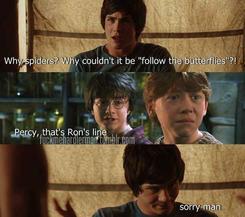 Harry Potter and Percy Jackson crossover | •Harry Potter ...
