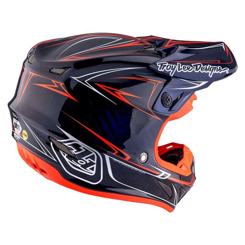 Cross Tld Se4 Carbon Baca1201 Toys Helmet Helmet Paint Motocross