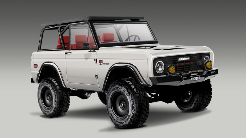 Toyo Tires Will Bring Another Wild Catalog Of Rides To Sema Ford Bronco Detroit Steel Ford Mustang Fastback