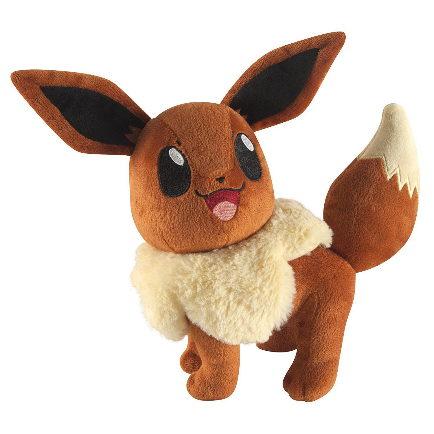 "Pokemon Large Eevee 9"" Plush Eevee plush, Pokemon plush"