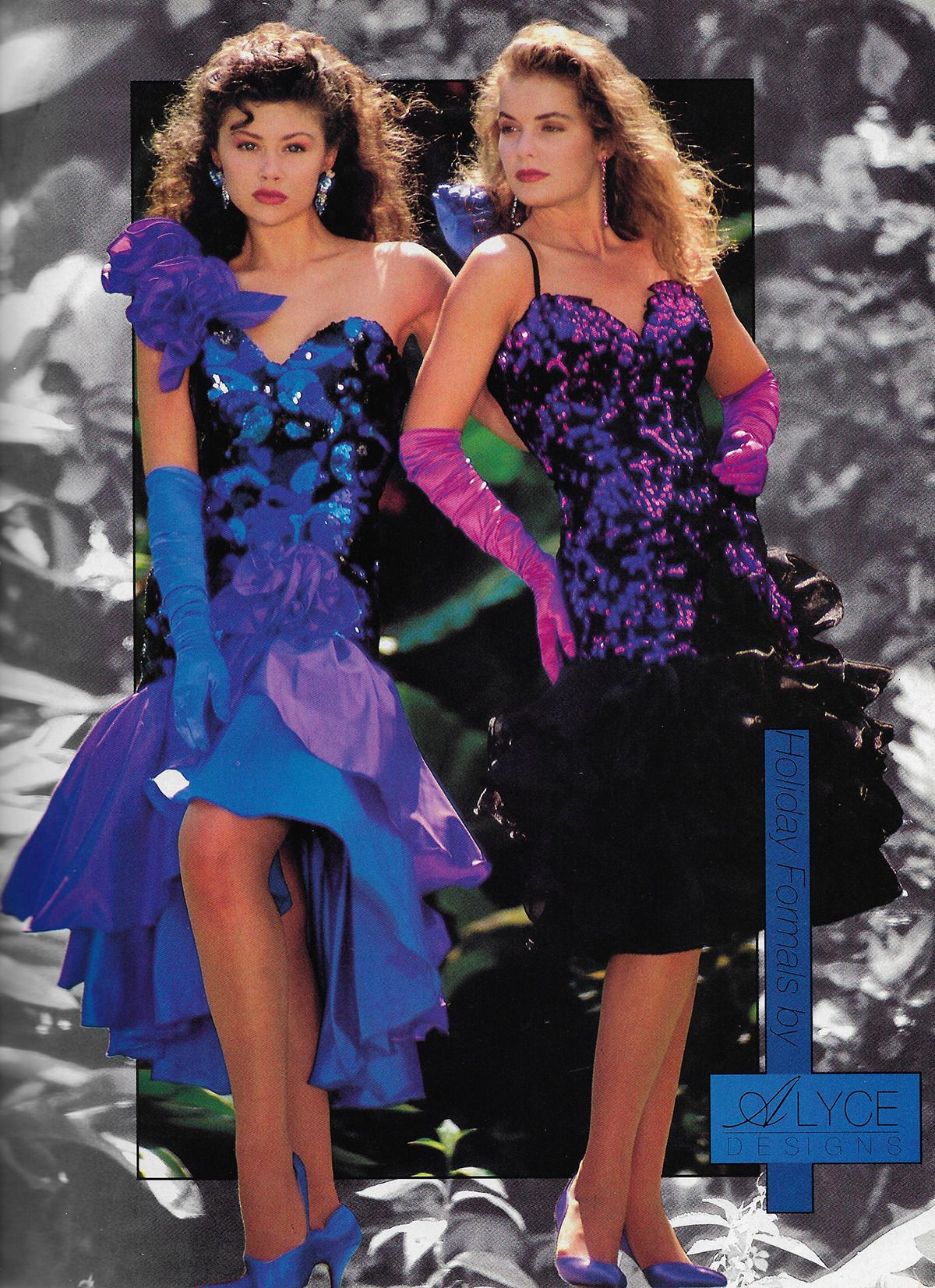 Holiday Formals By Alyce Designs 1990 80s Prom Dress Fashion Show Themes 80s Fashion [ 1652 x 1200 Pixel ]