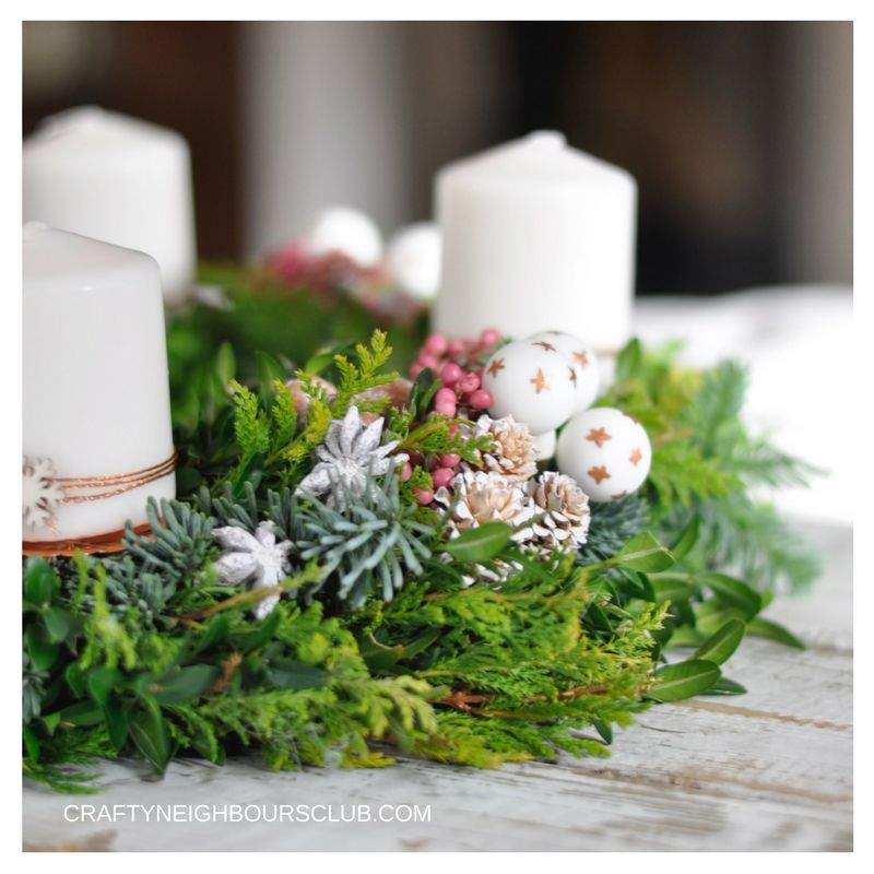Adventskranz diy tipps tricks f r 4 wochen frische diy christmas and wreaths - Pinterest adventskranz ...